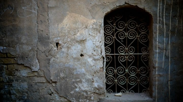 window in Middle East