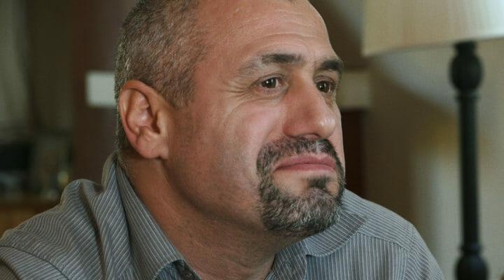 Albanian man in Greece