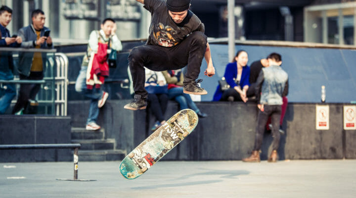 skater does jump in southeast asia