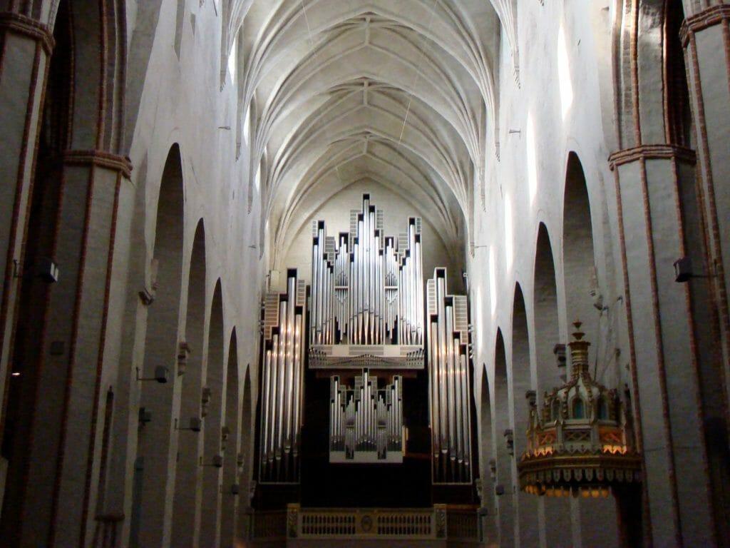The Turku Cathedral in Turku, Finland