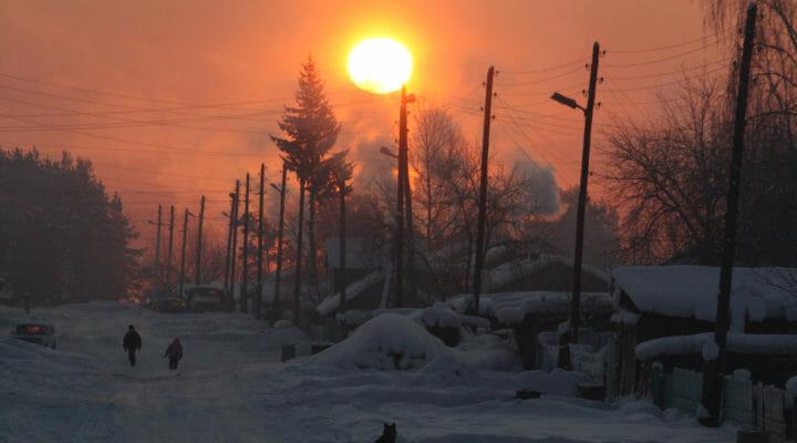 Winter sun copy