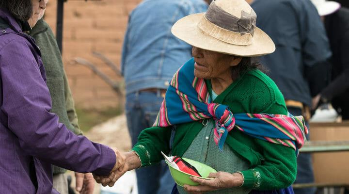 Quechua woman in Bolivia