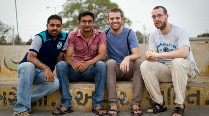 charting your course - young men exploring missions