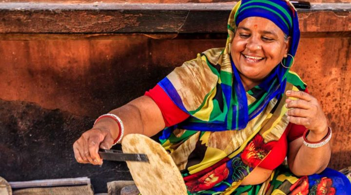 Immigrant ministry can include yummy food this African woman prepares
