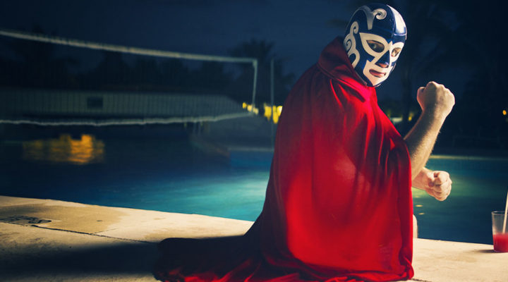 Immigrant ministry brings surprises like luchadors introducing people to Christ