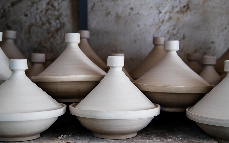 photo of North African clay tajines
