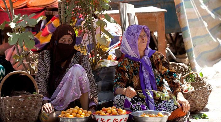 central-asia-ladies-apricots